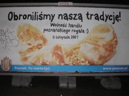 Plakat powięcony rogalom :)