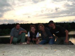 Nad jeziorem - On the lakeside