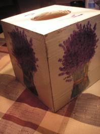 Chustecznik - Handkerchief box
