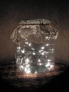 Słój pełen światła - Jar full of light