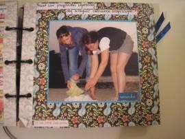 Scrapbooking album