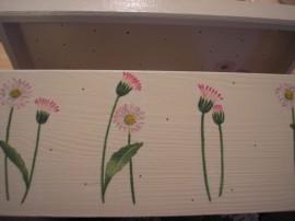 Stokrotkowa skrzynka - Daisy box