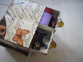 Komódka z pudełek od zapałek - Matchbox drawer
