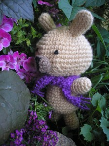 Szydełkowy królik - Crocheted bunny
