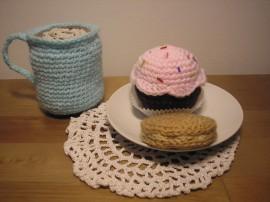 Szydełkowy deser - Crocheted dessert