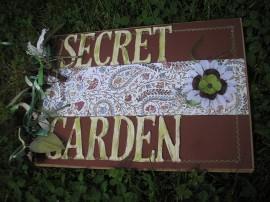 Ogrodowy album scrapbookingowy - Scrapbooking garden album