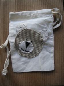 Misiowy woreczek - Teddybear pouch