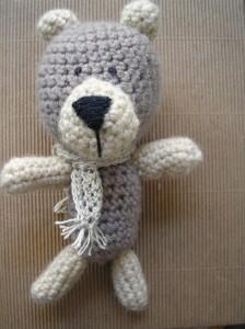 Szydełkowy miś - Crocheted teddybear