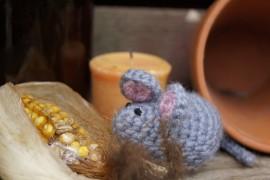 Szydełkowa mysz