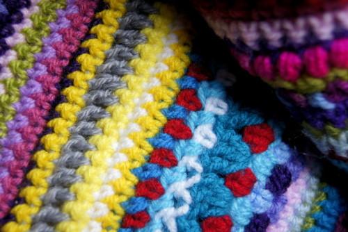 Crochet Mood Blanket 2016